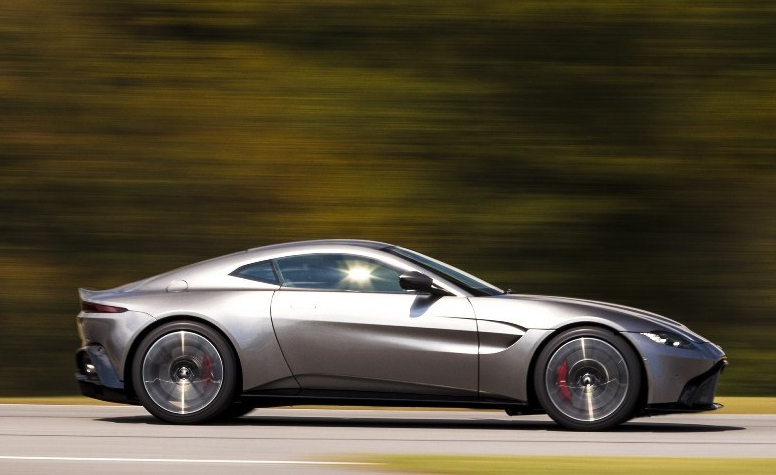 2020 Aston Martin Vantage Engine