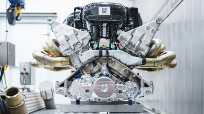 2021 Aston Martin Lagonda Engine