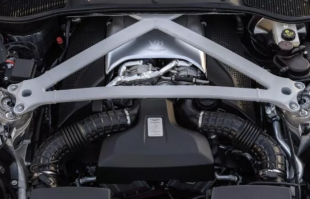 2021 Aston Martin DB11 Engine